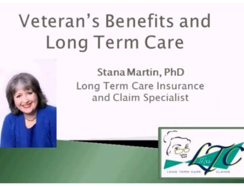 Long Term Care Insurance: Veteran Benefit Primer