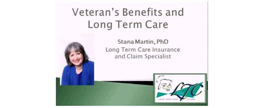 Long Term Care Insurance Veteran Benefit Primer
