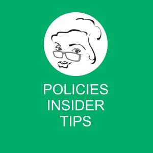 policies insider tips image